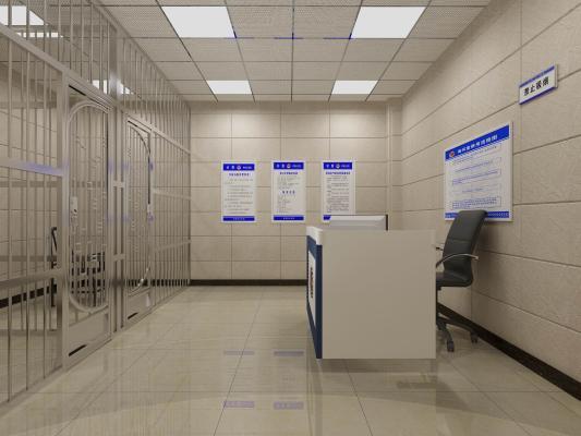 现代公安局法院审讯室 讯问室