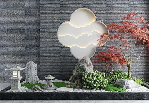 中式园林景观小品