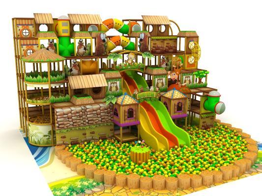 森林游乐园 儿童乐园 淘气堡
