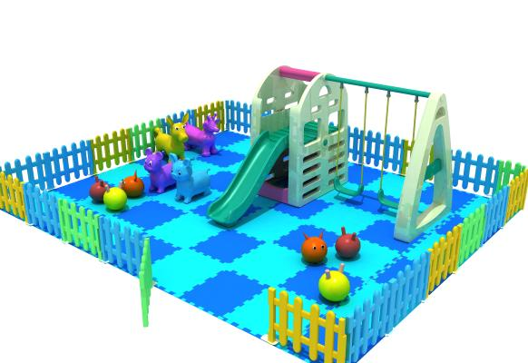 现代风格塑料小滑梯 儿童乐园