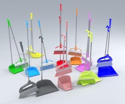 现代扫把 簸箕 扫帚