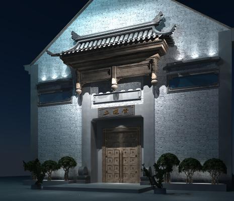 中式牌坊 景观门头