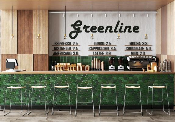 現代北歐咖啡店