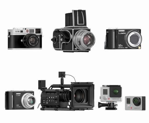 现代相机 摄影机 摄像机