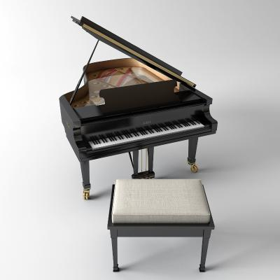 简欧钢琴 乐器
