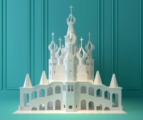 现代公主城堡