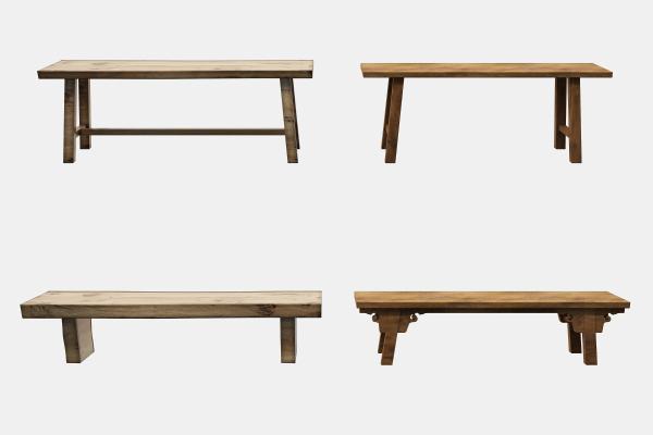 中式长条凳