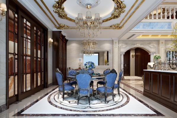 欧式古典客餐厅