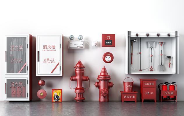 消防滅火器消火栓火警設備