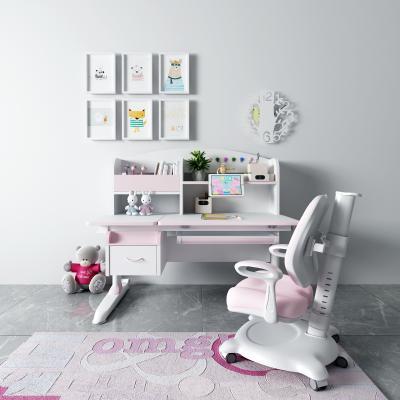 现代儿童升降书桌