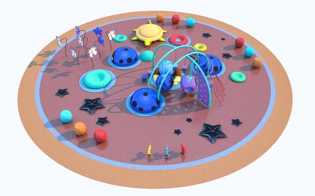 现代游乐设施 玩具