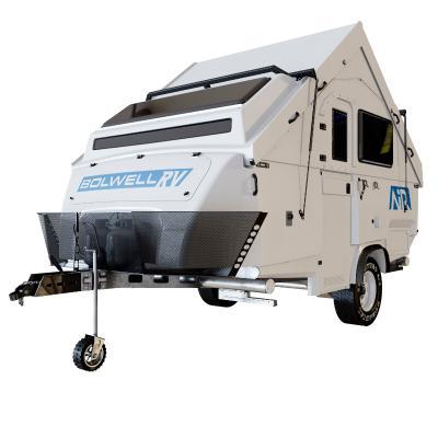 现代拖拉式紧凑型房车