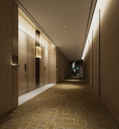 新中式风格走道空间