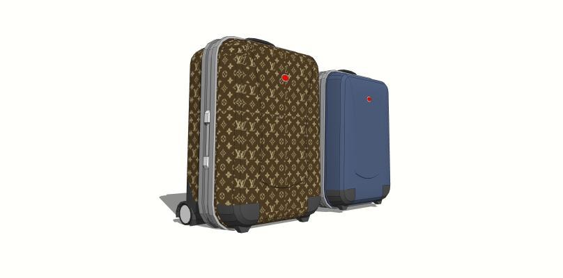 现代行李箱
