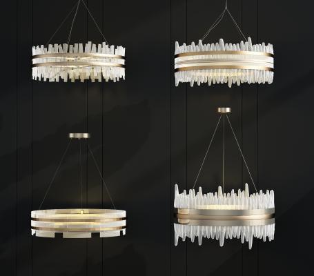 现代轻奢水晶吊灯