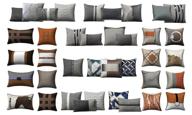 新中式枕头 抱枕