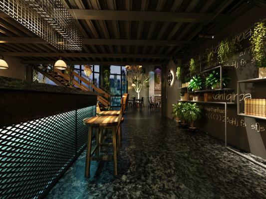 工业风酒吧 音乐餐厅