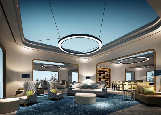 现代机场贵宾休息室