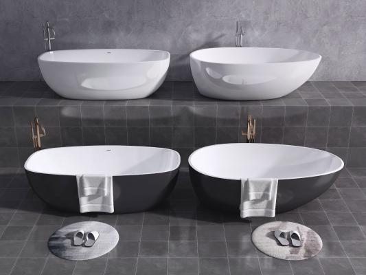 现代浴缸 陶瓷浴缸 浴盆