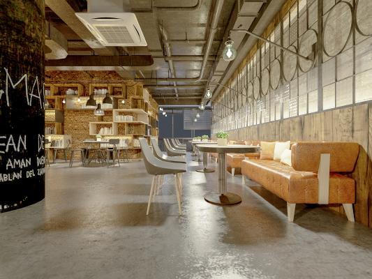 工业风咖啡厅