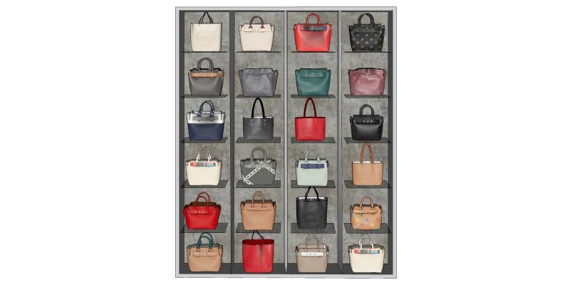 现代手提包 包包