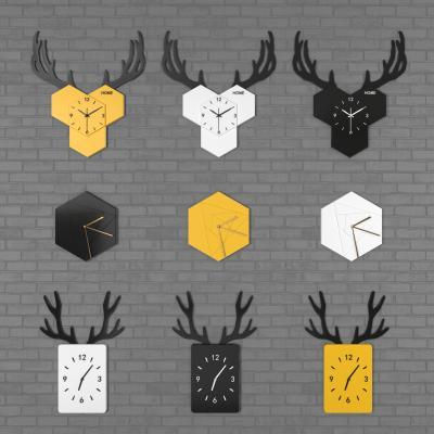 北欧挂钟装饰