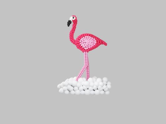 北欧风格陈设饰品 气球火烈鸟饰品