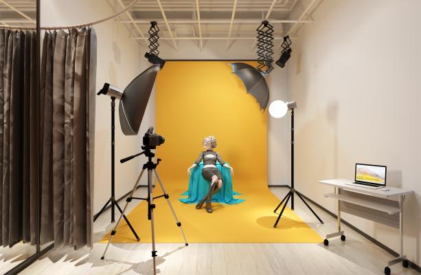 现代摄影 摄影棚 摄影室