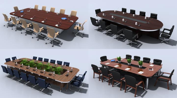 现代会议办公桌椅