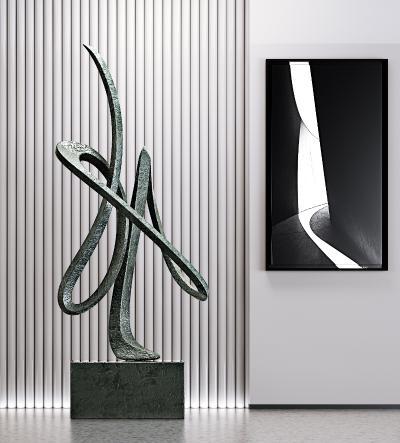 现代雕塑 摆件