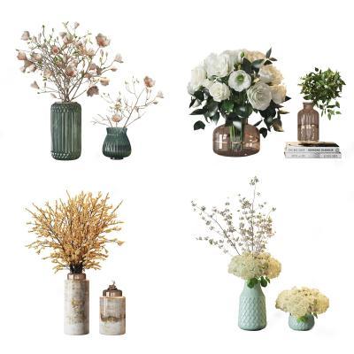 现代花艺 摆件 植物