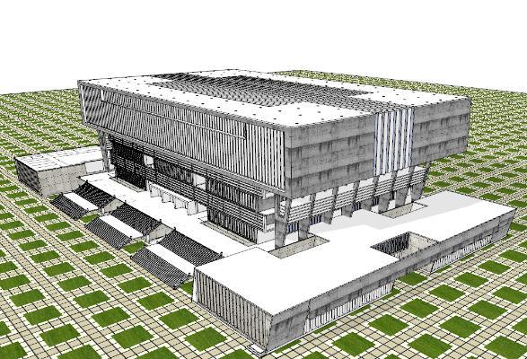 现代图书馆 博物馆建筑