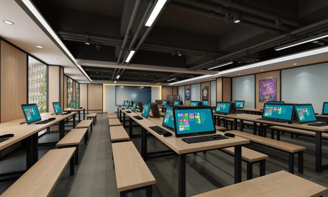 工业风zSpace vr教室