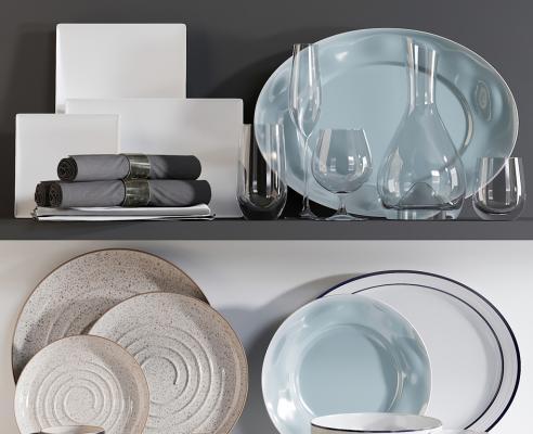 现代陶瓷盘子