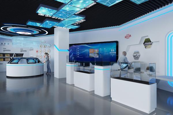 現代科技展廳 展柜 電子顯示屏