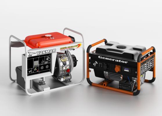 现代工业设备 发电机 柴油机 燃油发电机