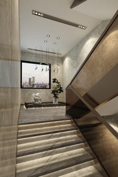 新中式楼梯 玄关