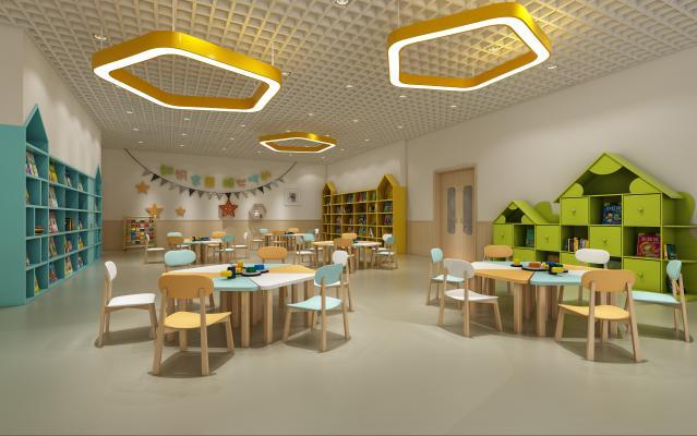 现代儿童阅览室