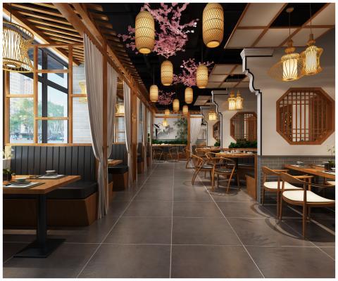 新中式火锅店