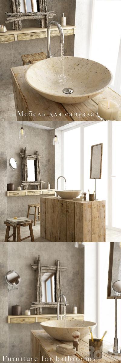 欧式浴室家具