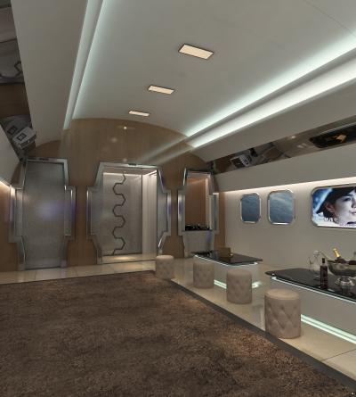 KTV 多人沙发 屏幕 异形门 飞机舱