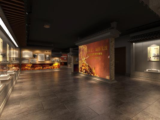 新中式文化展厅