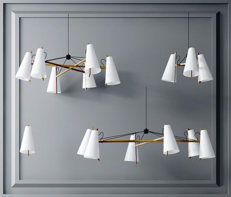 北歐吊燈組合,