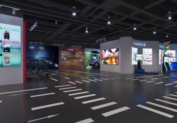 工业风科技展厅