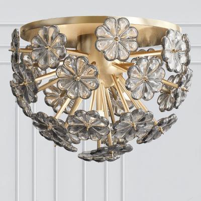 现代金属吸顶灯