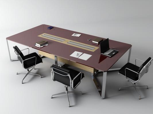 现代会议桌 笔记本