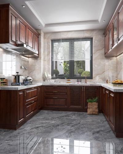 新中式厨房 橱柜厨房电器厨房用品