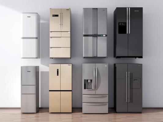现代冰箱 双门冰箱 三门冰箱