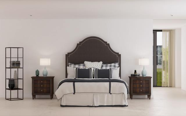 美式简约床具组合