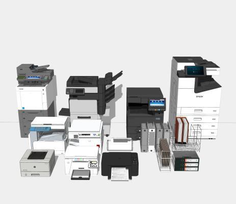 现代打印机 复印机 办公设备